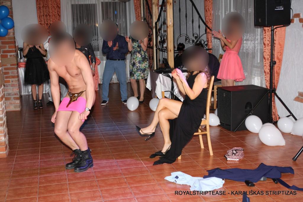 Vyrų striptizas gelbėtojai