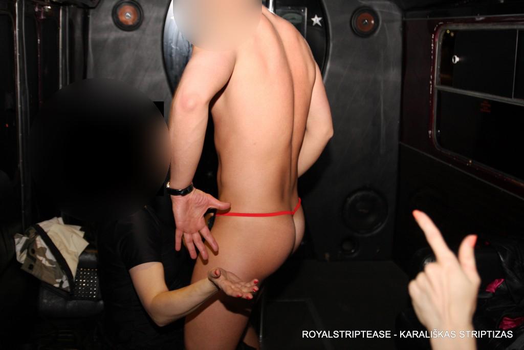 striptizas troleibuse