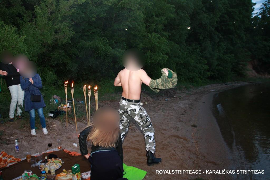 striptizo šokėjas