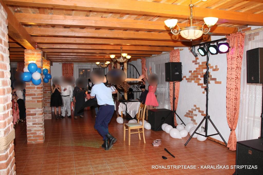 striptizo šokėjas Palangoje