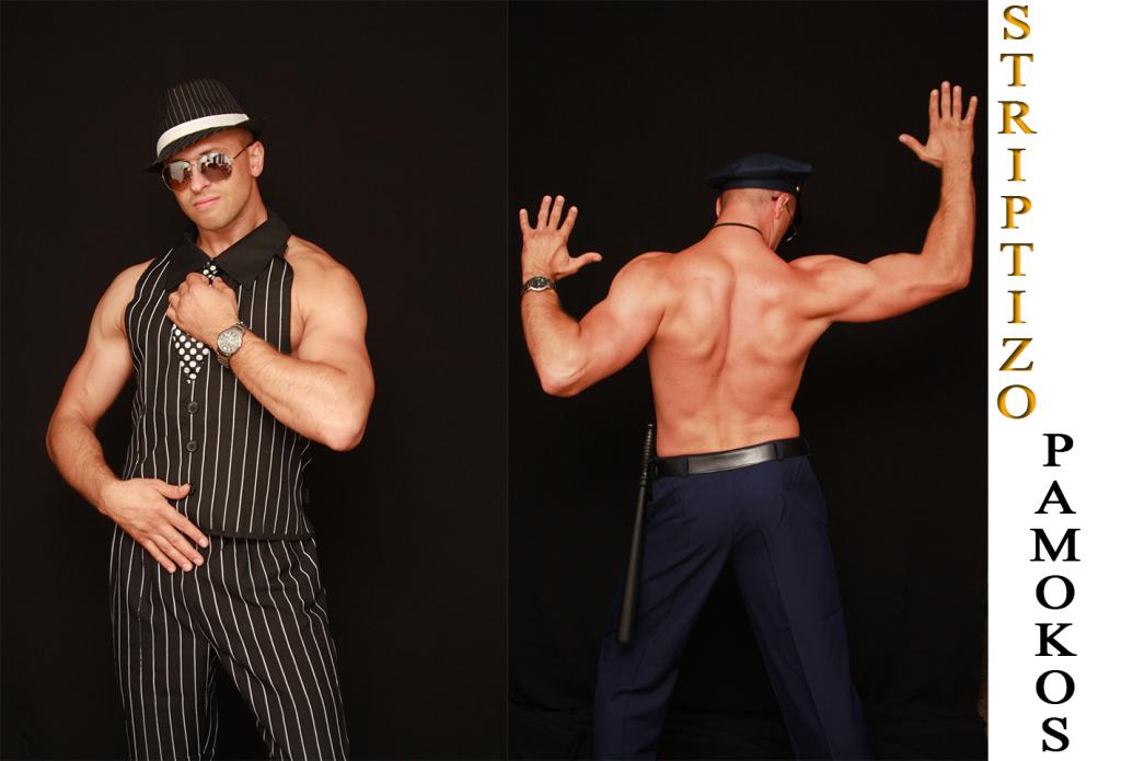 Striptizo mokymai vyrams
